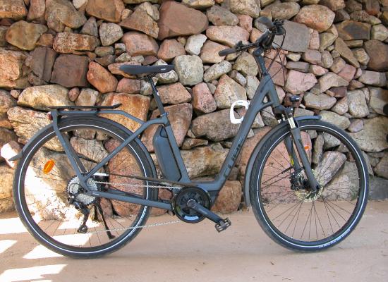 Vélo de ville avec assistance électrique